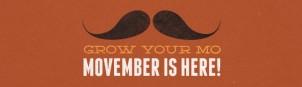 Grow a Mo for Movember!