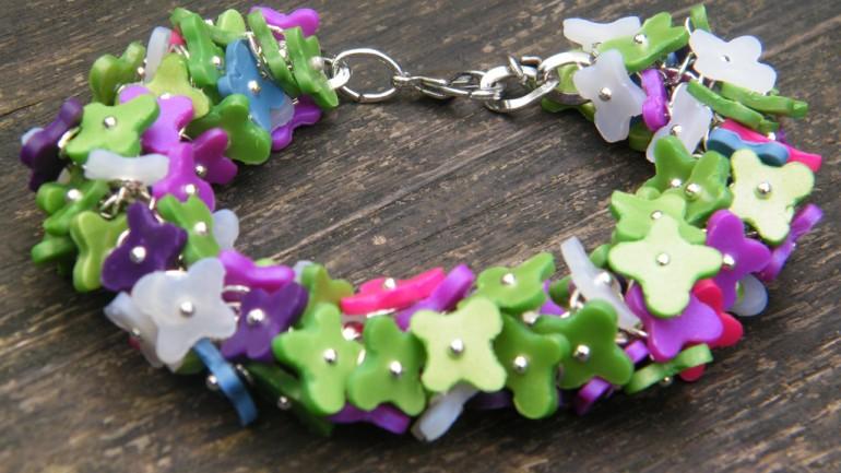 Bracelet Millefiori Primavera