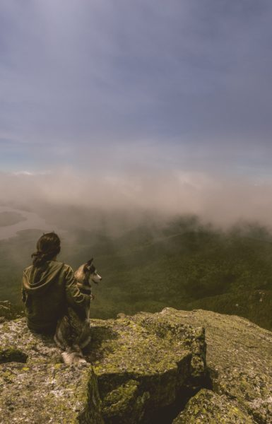 With a Friend on a Mountaintop