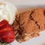 Tiramisu dessert at Delaney's