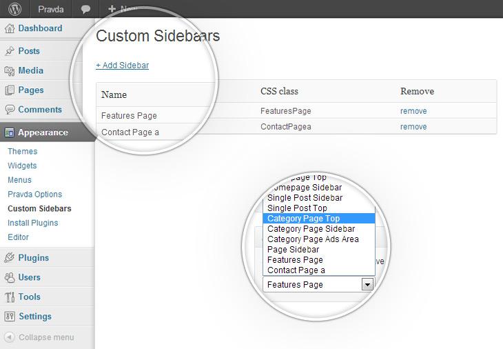 custom-sidebars