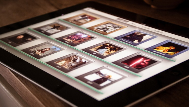 iPhoto on the new iPad