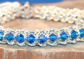 Spine Of The Centiped Chain Maille Bracelet