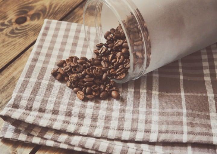 Coffee Machine in Café
