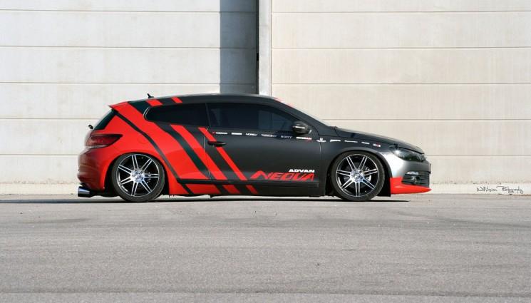 Volkswagen Scirocco Showcar Yokohama Advan Neova AD08